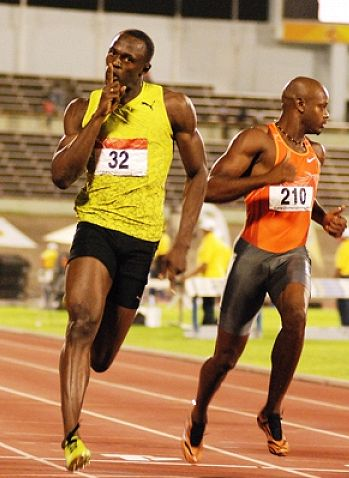 Bolt at the double at Jamaica trials