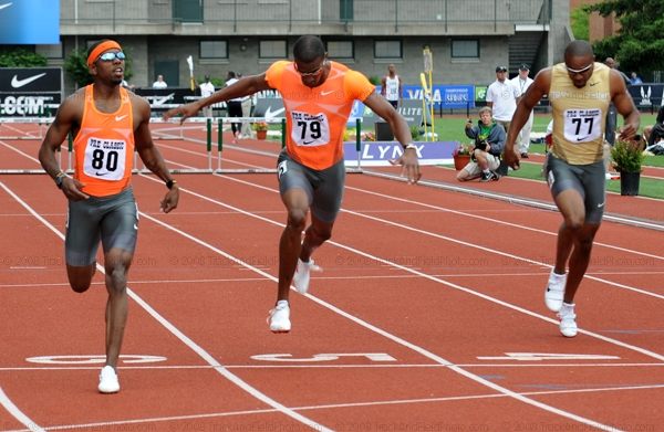 Jackson surprises 400m hurdles field, strong performances all-round in Eugene