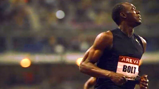Bolt says his 9.79sec was done with 85% sharpness