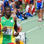 Kirani James in action in the 400m PHOTO/TrackAlerts.com
