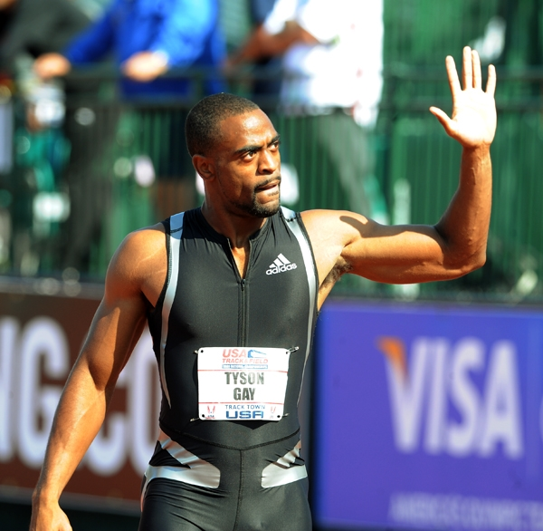 Tyson Gay ready to match whatever Bolt dishes