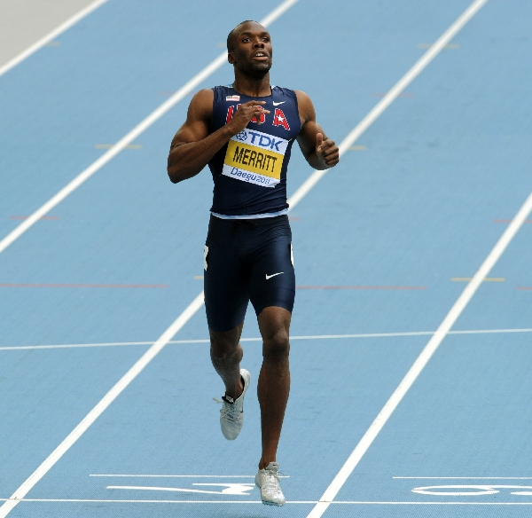 Lashawn Merritt clocks world-leading time at Guadeloupe meeting