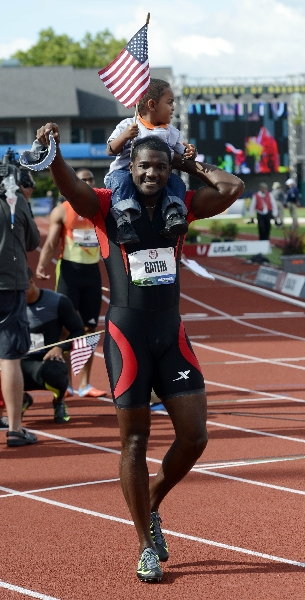 Gatlin warns Bolt and Jamaicans: Americans will dominate in London