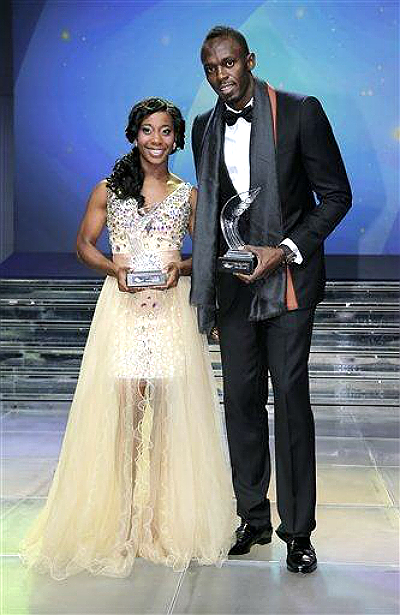 Bolt, Fraser-Pryce win IAAF Athletes of the Year Awards