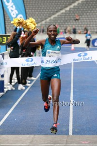 Janet Rono in action: PHOTO: Victah Sailer / BERLIN RUNS
