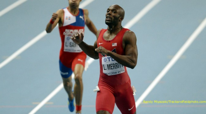 Lashawn Merritt of USA