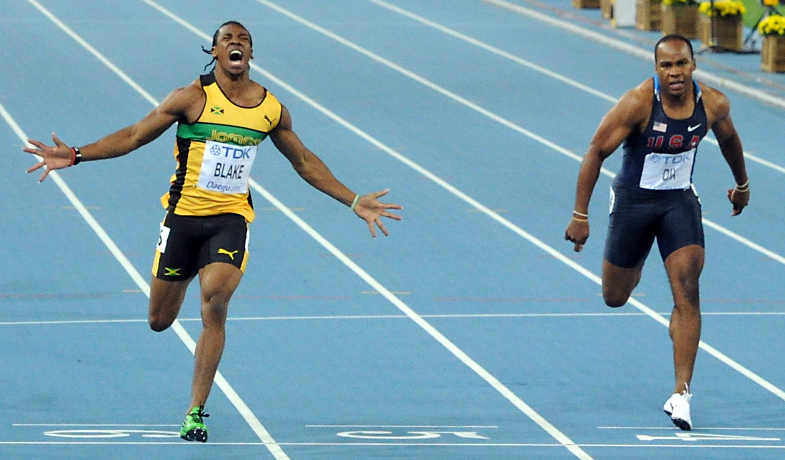 Yohan Blake feeling good ahead of Lausanne 200m
