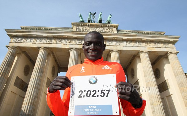 World Record Holder Dennis Kimetto: Photo by www.photorun.net
