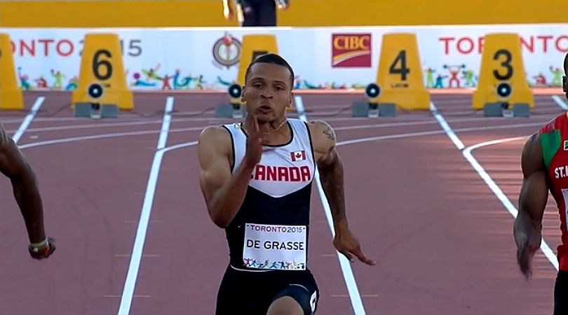 Injured De Grasse To Miss Showdown With Bolt In London