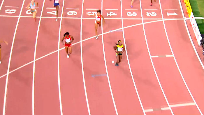 Elaine Thompson, Dafne Schippers Eased Into 200m Final