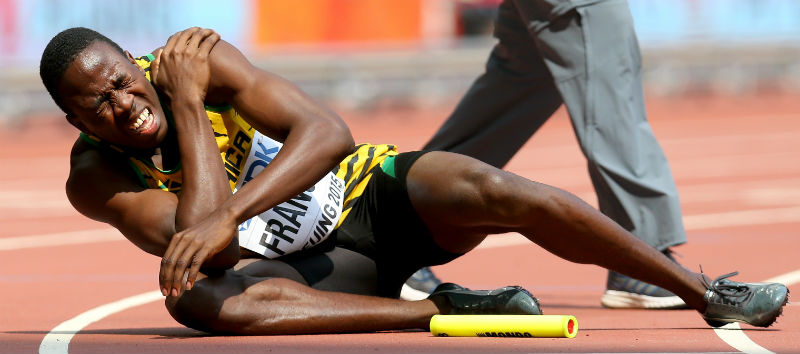 Javon Francis Runs 43.52: World Champs Men's 4×4 Splits