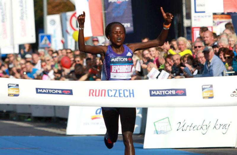 Peres Jepchirchir Breaks Mattoni Usti nad Labem Course Record