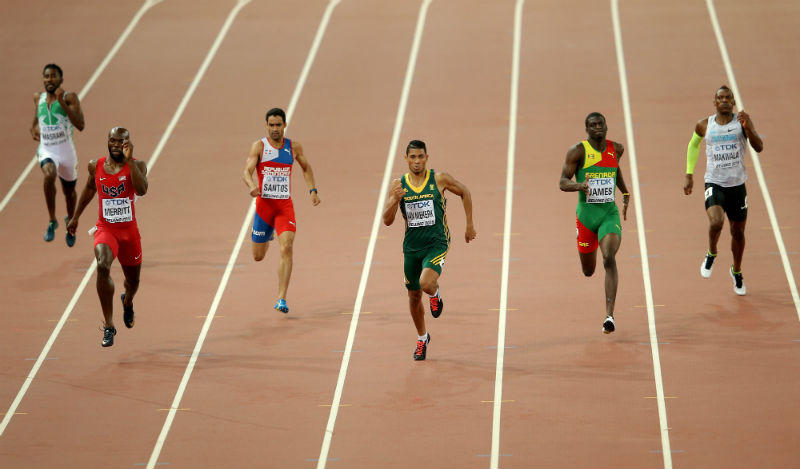 van Niekerk, James, Merritt Meet Again In Zurich Diamond League