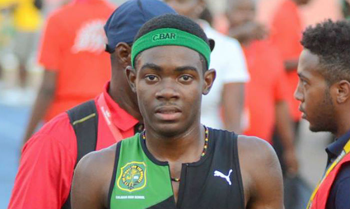 Christopher Taylor Breaks 400m Record At Champs 2016