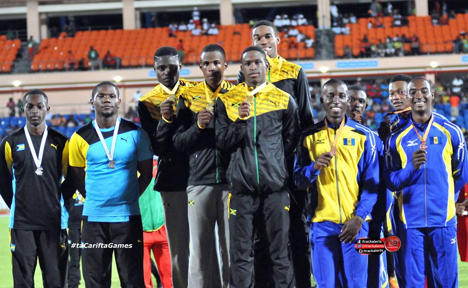 Jamaica Sweeps All Four 4x100m Relays On Carifta Games Day 2
