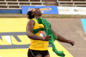 Champs 2016: Shanice Love celebrates