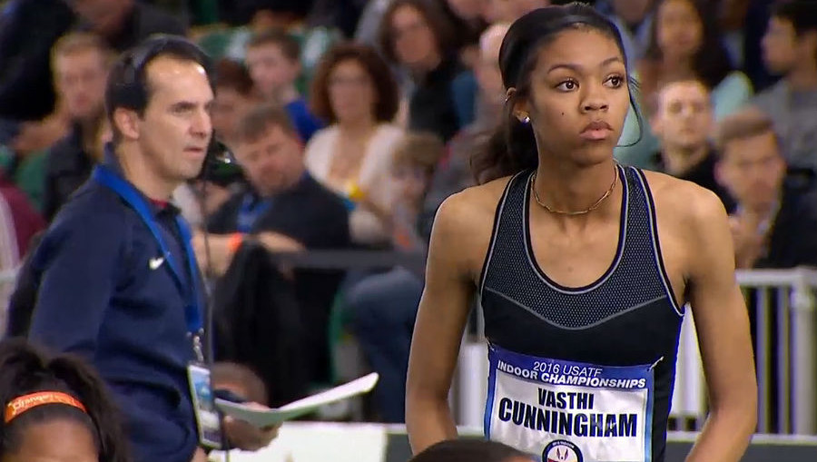Vashti Cunningham - USA World Indoor Championships