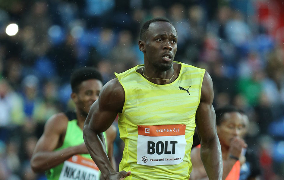 Bolt Runs 9.98 To Win 100 at Golden Spike