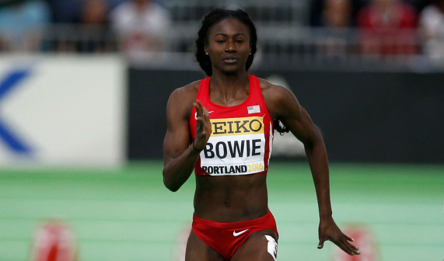 Bowie Easily Favored For Women's 60; Coleman v Baker For Men's Title?