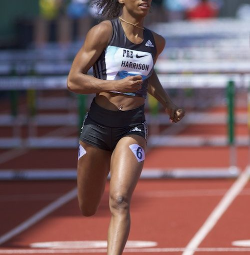Kendra Harrison Diamond League meeting