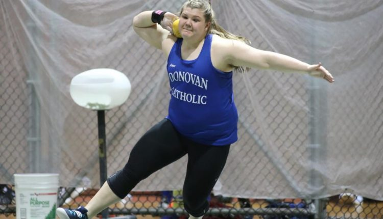 Alyssa Wilson Breaks Girls Indoor National HS Shot Put Record
