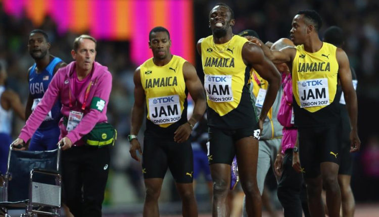 Usain Bolt Pulls Up Injured In Last Race