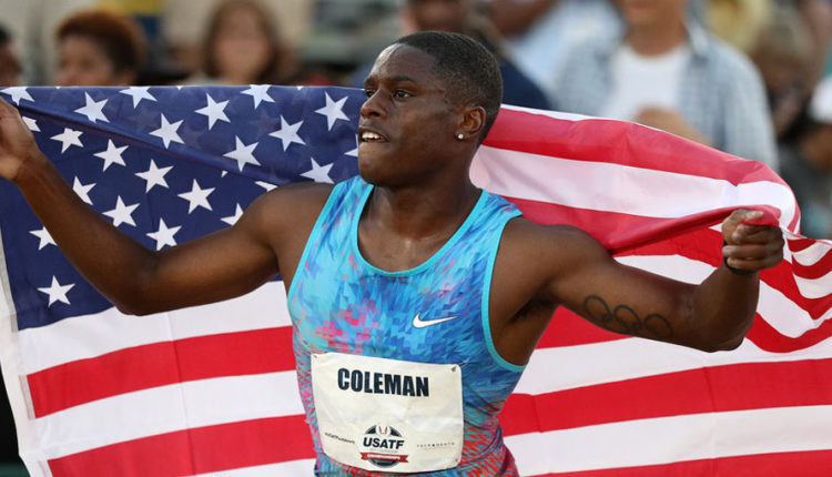 Coleman Ready For Fast 100m At Prefontaine Classic