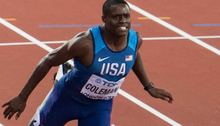 Coleman Hunts Another Fast Time At New Balance Indoor Grand Prix
