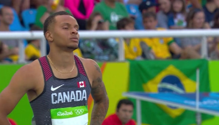 Canada's De Grasse Ends Season After Injury Setback