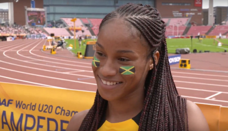 Williams Mounts Sprint Double Hunt; World U20 Women's 200m