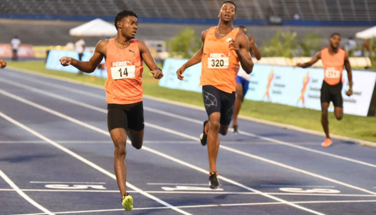 Christopher Taylor Equals Jamaica's NJR With 10.11 Run