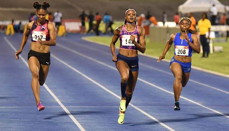 Elaine Thompson Says She's Just Having Fun After World Cup 2nd Place
