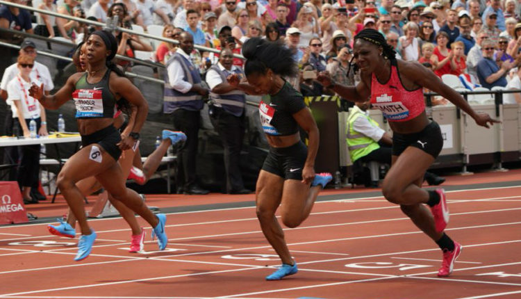 Fraser-Pryce Runs 10.98 To Win In London