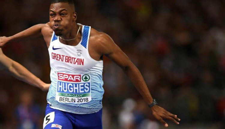 Asher-Smith, Hughes Bag European Championships 100m Titles