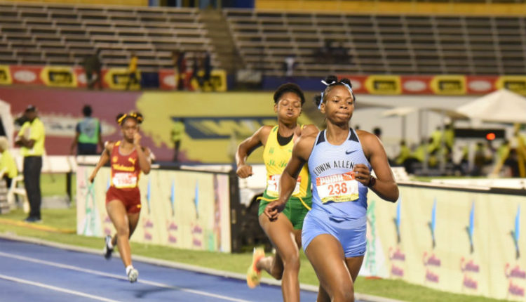 Champs 2019 Girls 100m Semi-finals Report: Clayton twins, Davis Impressed