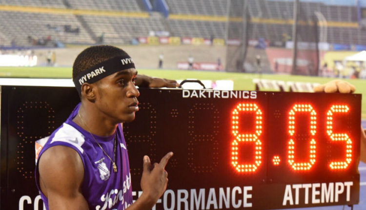 Record-Breaking 8.05m Leap For Wayne Pinnock At Champs 2019