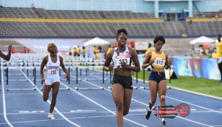 JAAA To Use IAAF Ranking To Select 100m Hurdles Runners, But Williams Not Eligible