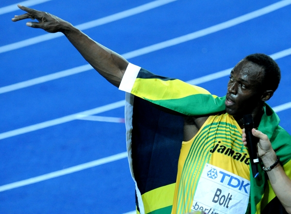 Usain Bolt of Jamaica