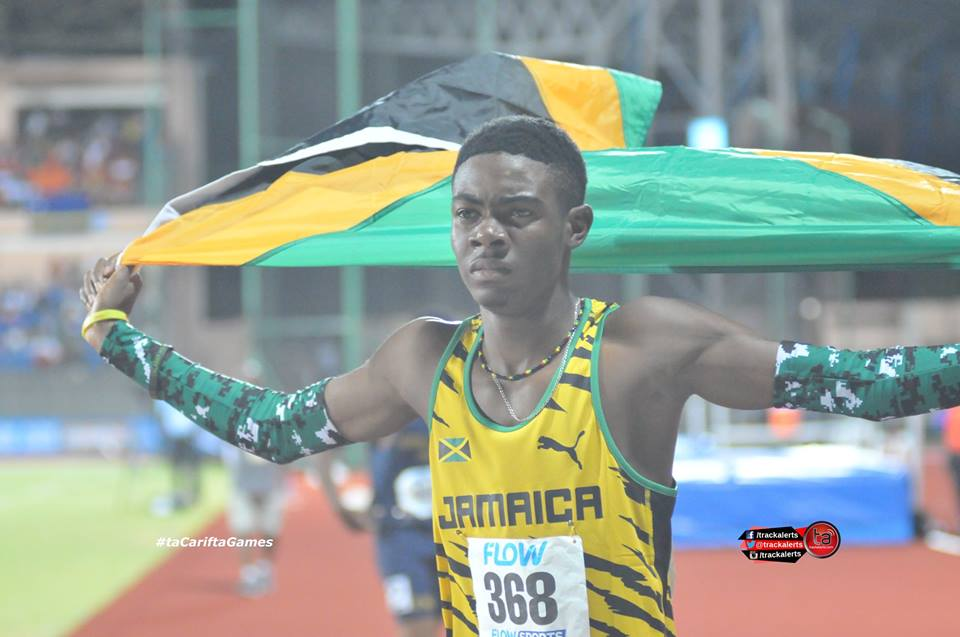 Christopher Taylor 2016 Carifta Games