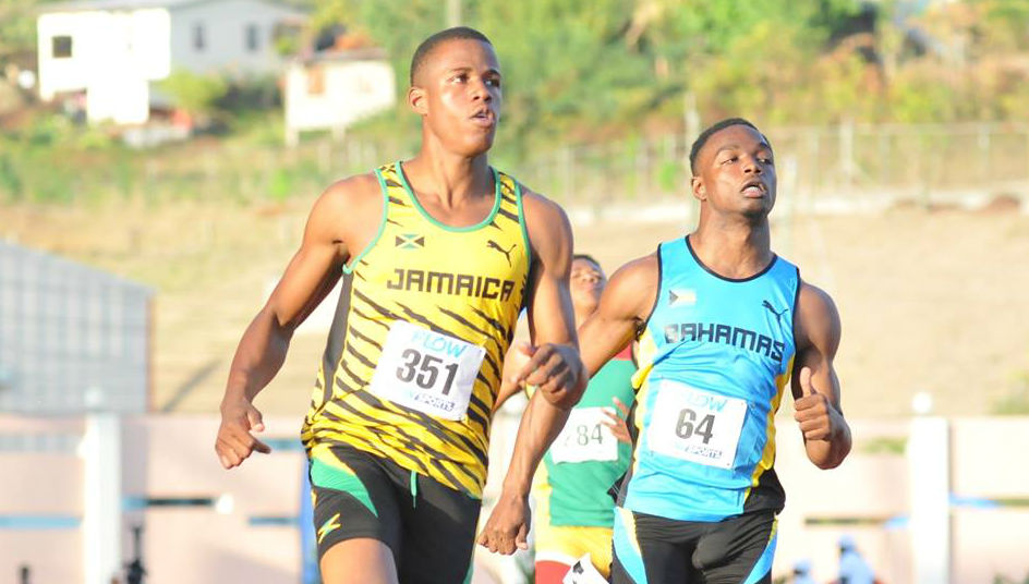 Nigel Ellis Carifta Games 2016