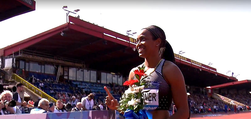 English Gardner USA Diamond League