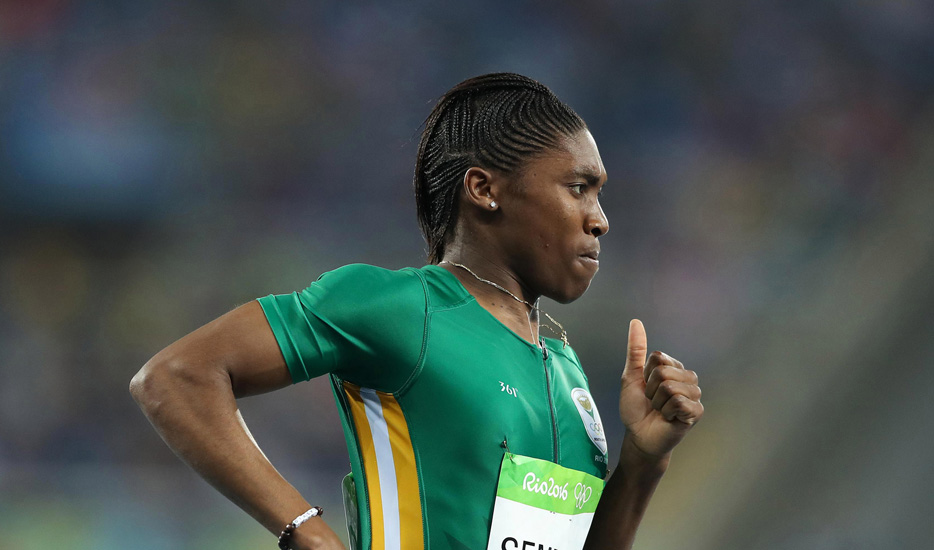 Caster Semenya of South Africa World Championships
