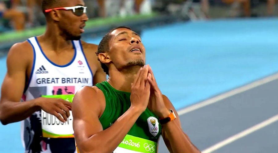 Wayde van Niekerk Olympic and world champion