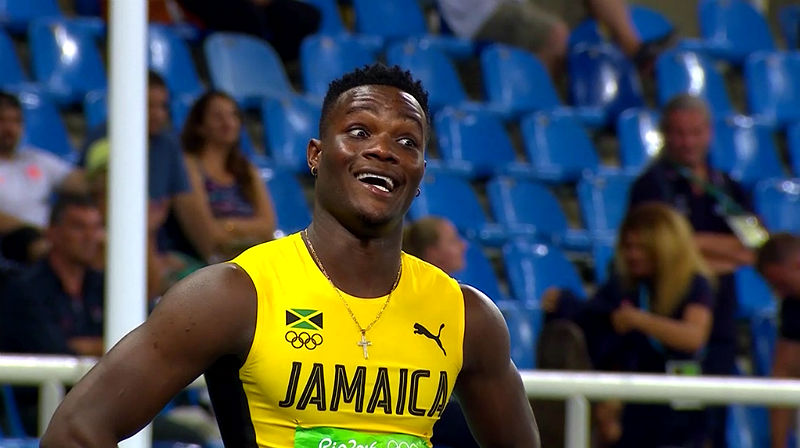 Omar McLeod of Jamaica