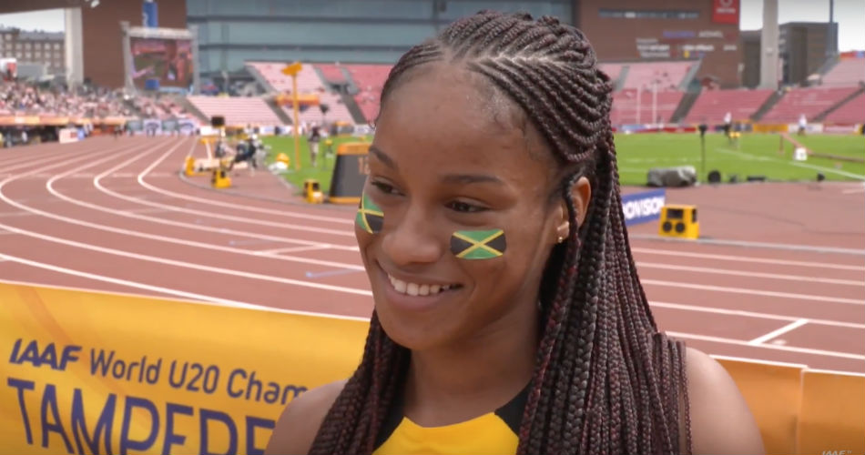 Briana Williams - World U20 Championships