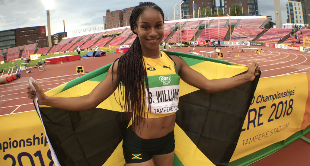Briana Williams of Jamaica