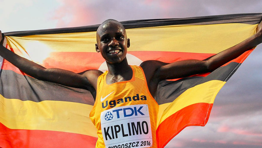 Jacob Kiplimo of Uganda