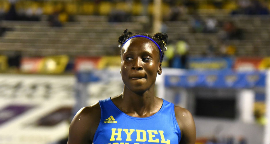 Ashanti Moore of Hydel at Boys and Girls Champs 2019