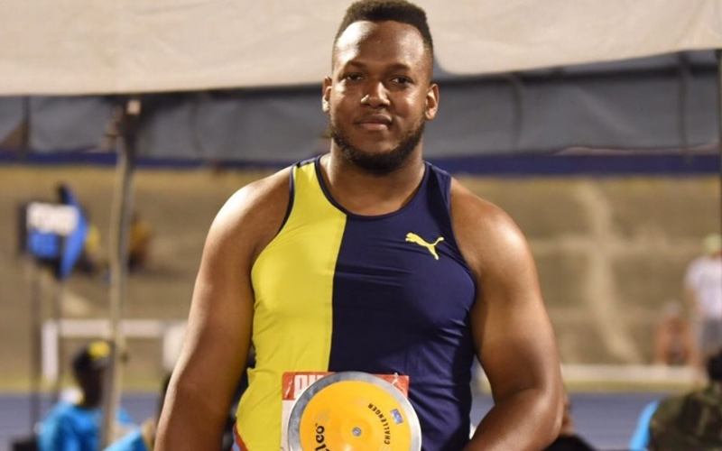 Traves Smikle wins Discus Throw at 2019 Jamaica Trials