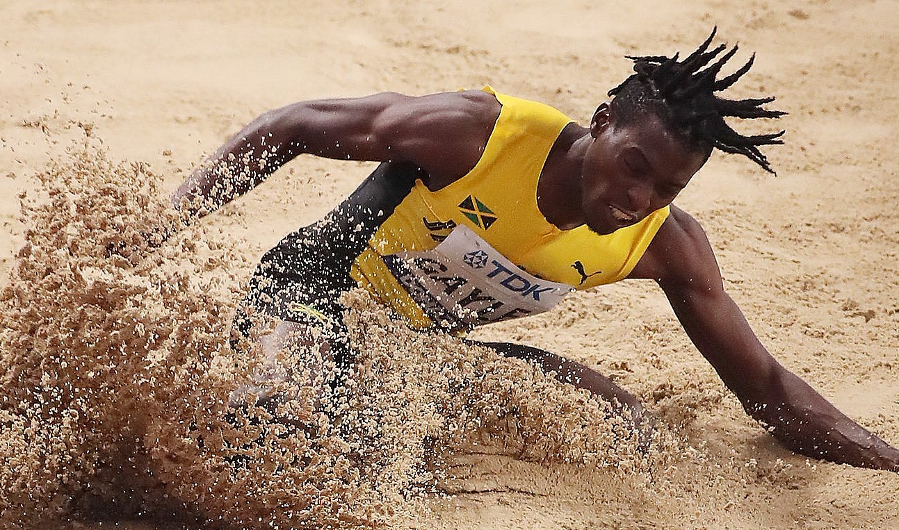 Tajay Gayle of Jamaica wins World long jump gold